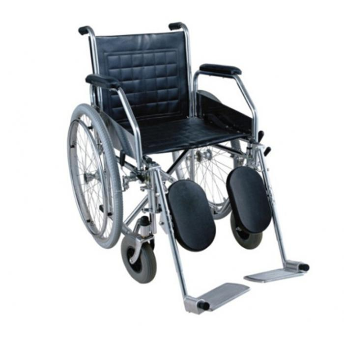 Chrome-Plated Wheelchairs with Pneumatic Tire